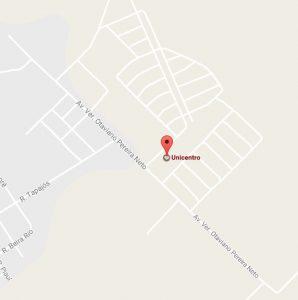 Localização Campus Fimca Unicentro – Jaru